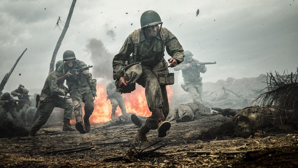 Mel Gibson returns with a bang in new WW2 epic Hacksaw Ridge