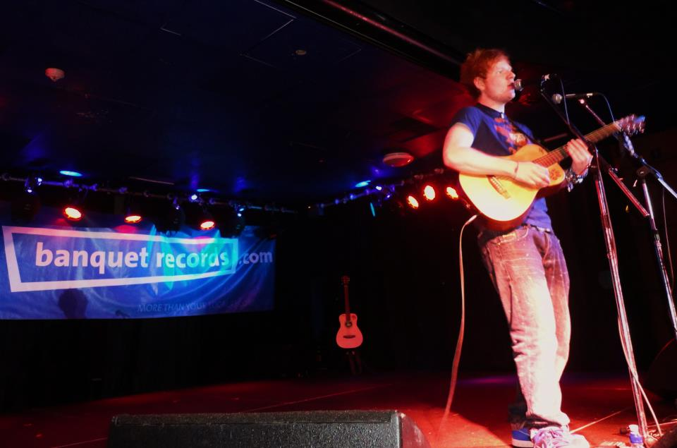 Ed Sheeran plays Hippodrome in 2011. Photo Credit: Banquet Records