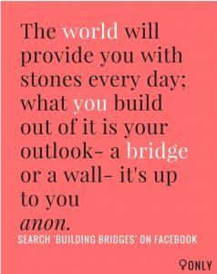 Building Bridges Poster Photo Credit: Facebook