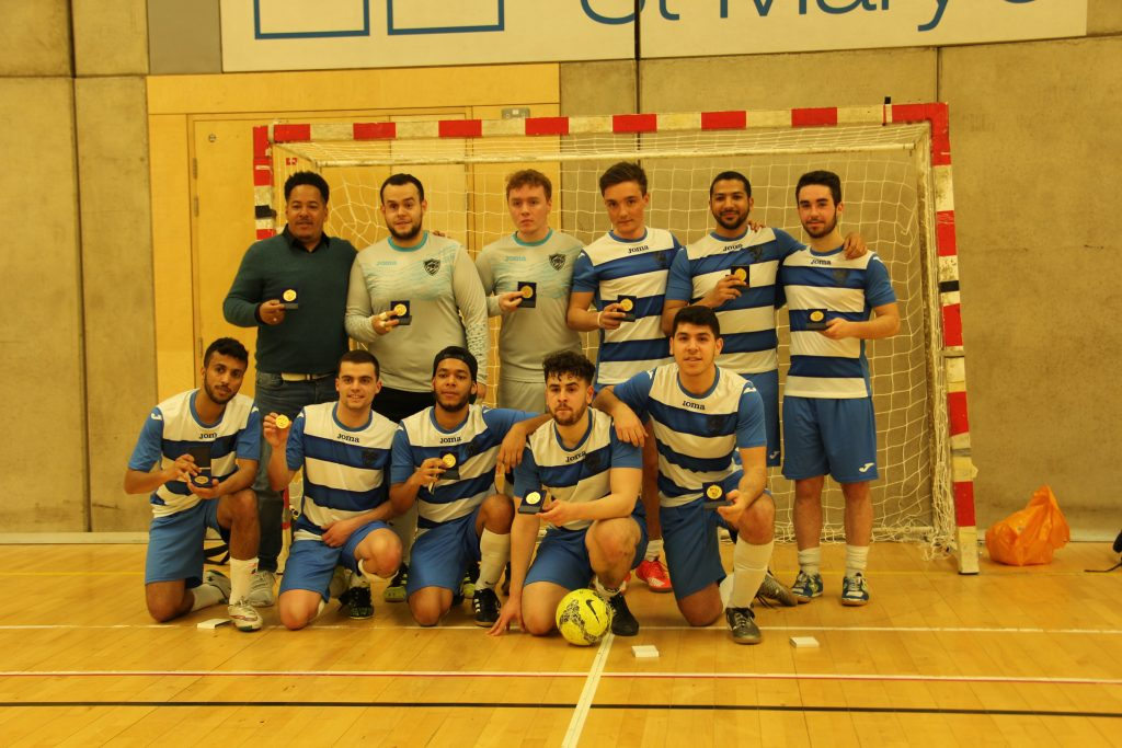KU futsal win the double by beating Portsmouth in cup final