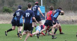 Kingston battling through IImperial's defence Photo: Michael Lloyd