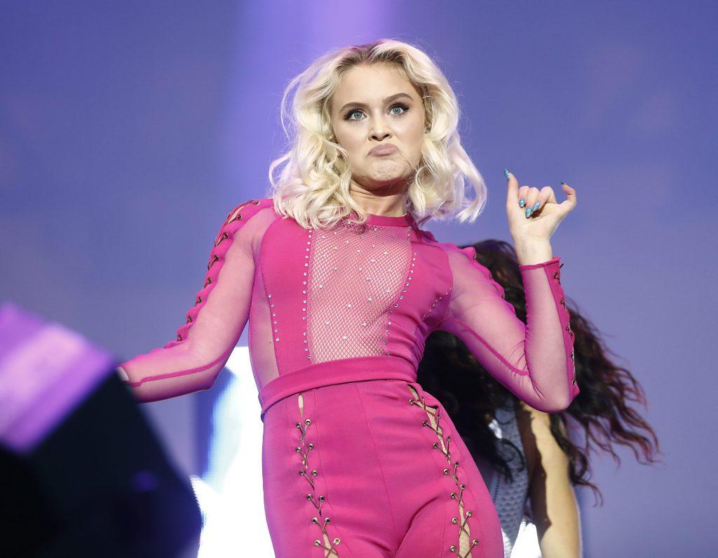 Is Zara the new UK pop princess? Photo Credit: Rex Features