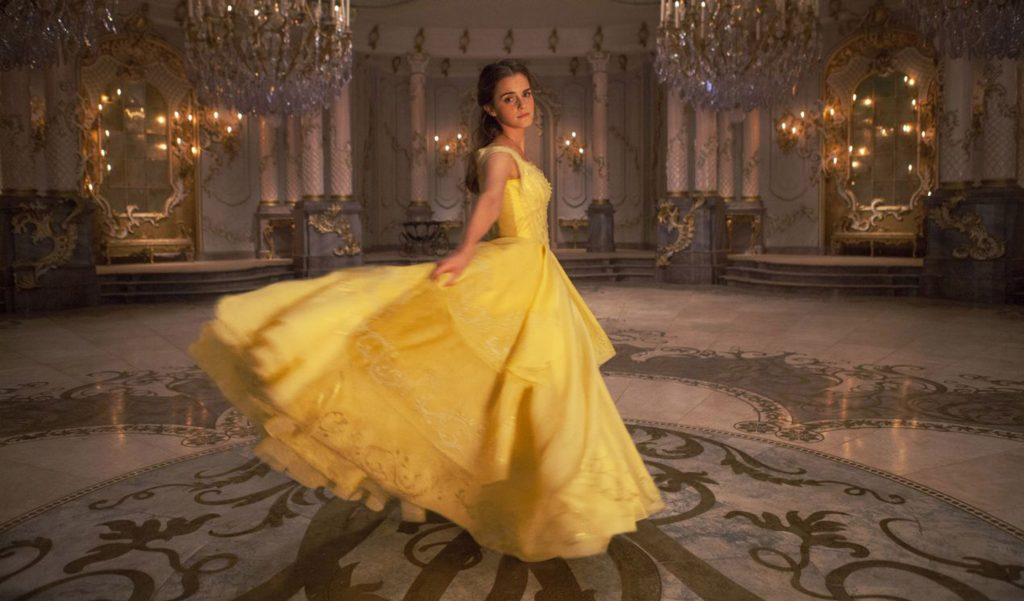 Emma Watson as Belle in Beauty and the Beast. Photo Credit: Rex Features