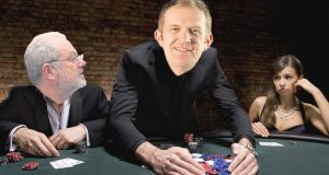The chips are down for KU staff as the VC has all the cards in his hands. How Steven Spier and Andy Higginbottom might look at the poker tables.