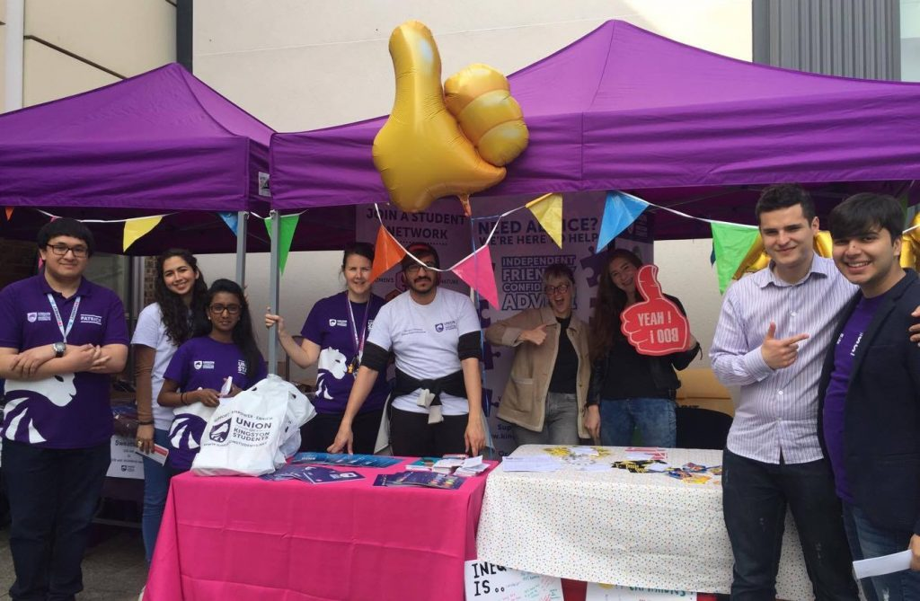 Roehampton Vale joins in with KU freshers' festivities