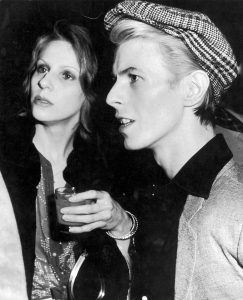 Angie and David Bowie in 1970