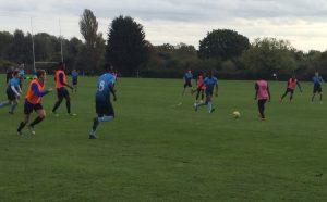 Kingston men's football shock Roehampton to win at mini varsity