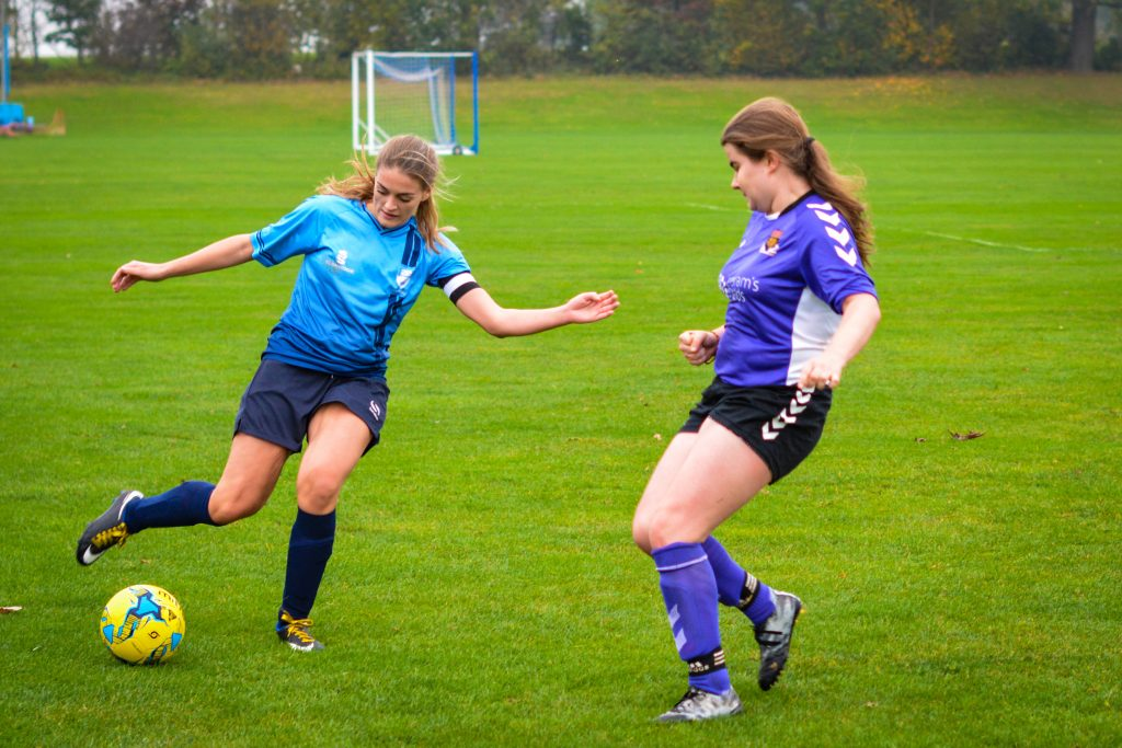 Kingston women's football snatch draw against LSE after being 6-1 down at half time
