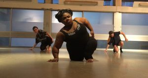 Tobi during a dance class Photo: Tobi Green-Adenowo