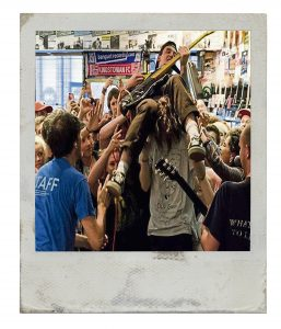 Gnarwolves play in-store, 2014