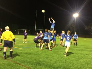 Kingston University men's rugby match stopped early as they thrash Portsmouth in the cup