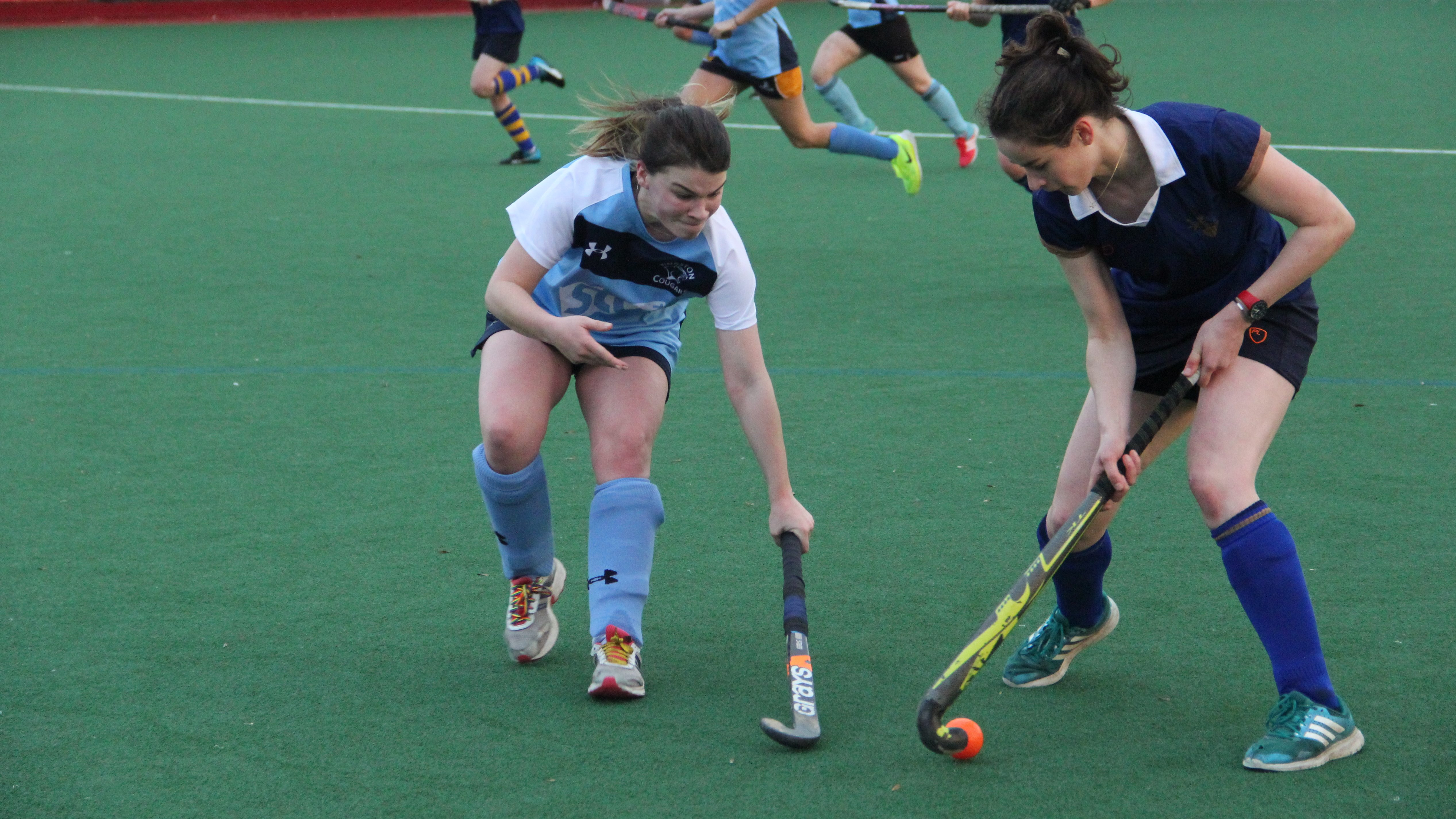 Kingston women's hockey out of cup after Surrey thrashing