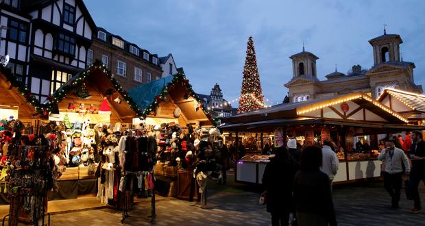 The annual Kingston Christmas Market.  Photo: Visit Kingston