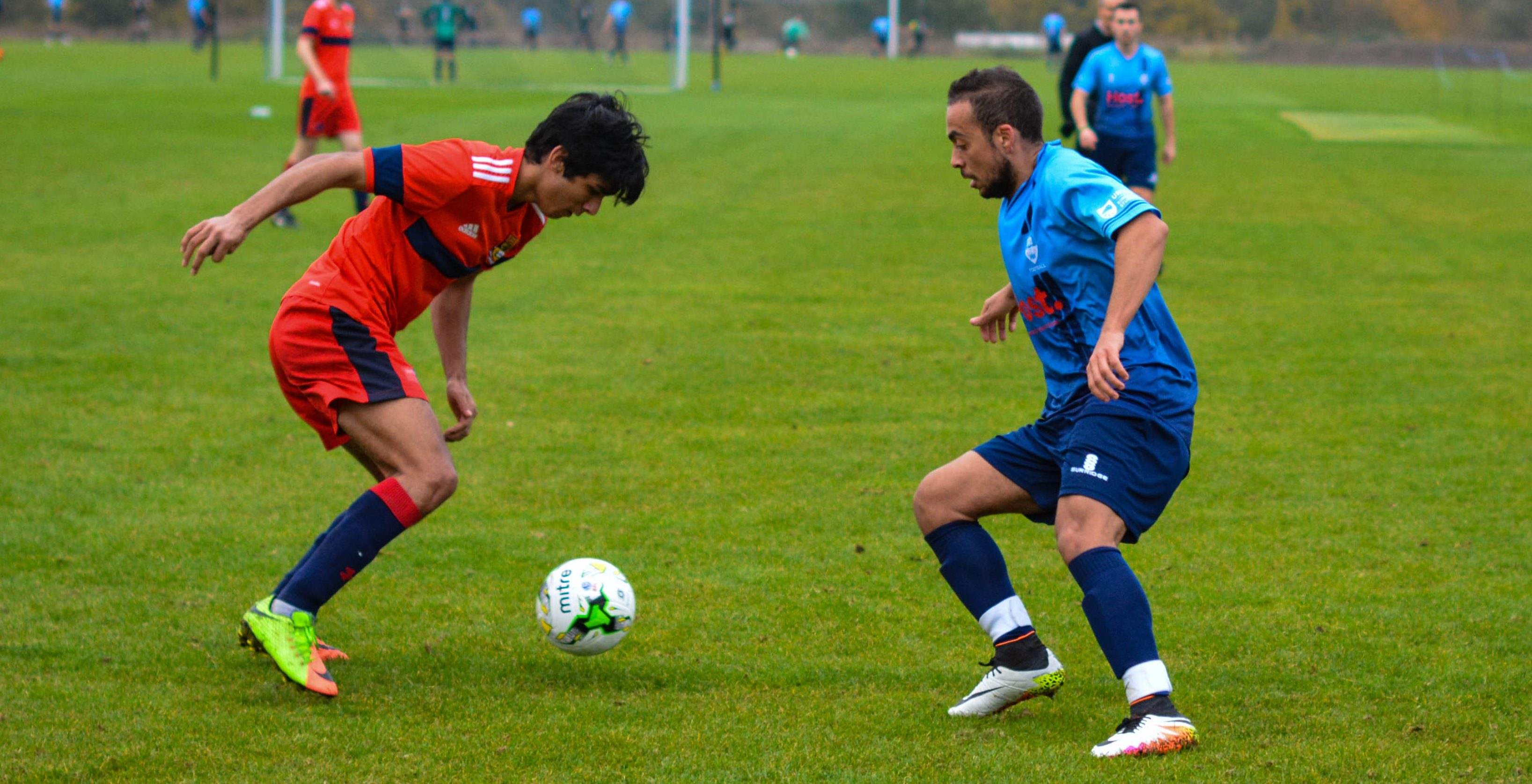 KU men's football record first win of the season as they put four past Imperial College London