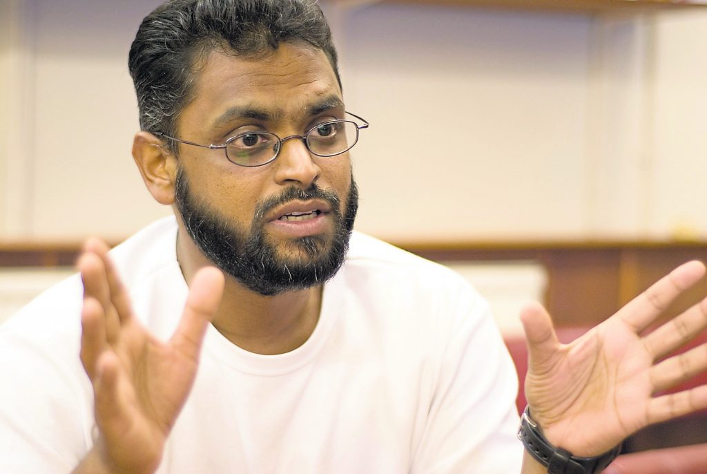 'I never thought I'd be a victim of Islamophobia in my old alumni' KU graduate denied entry to controversial Moazzam Begg Islamophobia Awareness talk