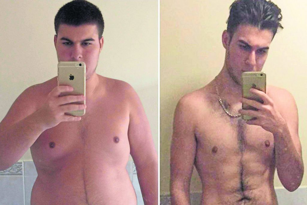 KU student loses 8.5 stone after failing A level exams