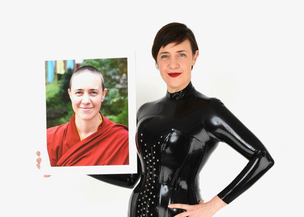KU student Damcho Dyson on how she went from a Tibetan nun to latex fun