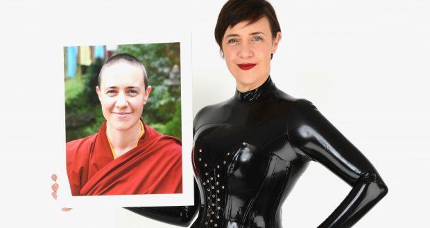 Australian artist Damcho Dyson went from nun to latex loving KU student. (Photos: Graham Price)