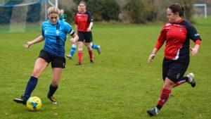 Kingston women's football crushes league leaders in 8-0 win