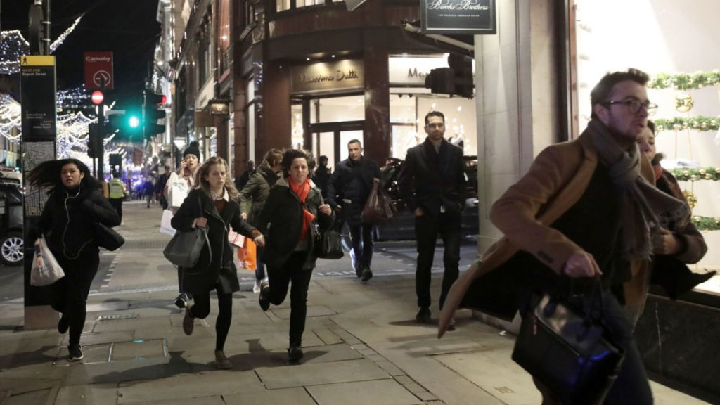 KU student trapped for hours in Oxford Street panic lockdown