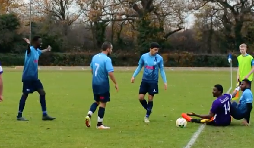 WATCH: Kingston men's first team football see off Brighton fourths in bruising encounter