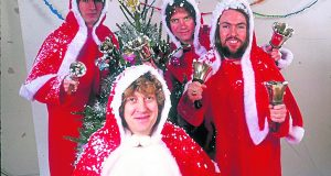 DM ORIGINALS SATURDAY 15/12/2001 P53  Slade  People in Pictures