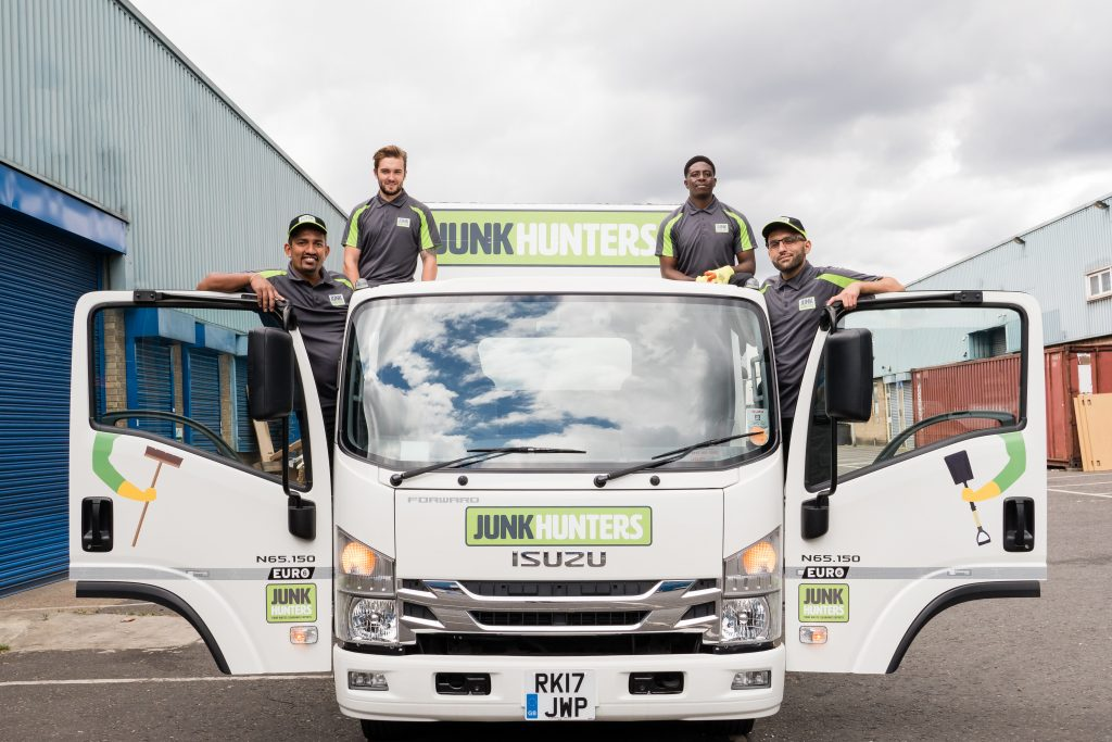 Kingston graduate built a rubbish removal business with  £1m in turnover