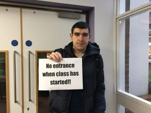 SEC students angry about new late door policy