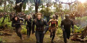 Scene from the Avengers Infinity war trailer