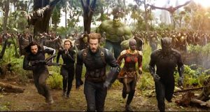 Scene from the Avengers Infinity war trailer Photo: Cinemablend