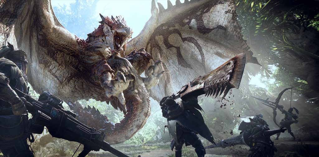 The Monster Hunter franchise finally joins the PS4 roster