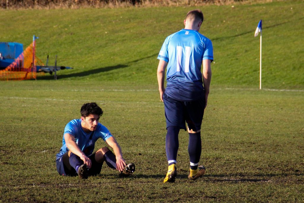 But it was too little too late, and the game finished 4-2 to Reading. Photo: Louie Chandler.