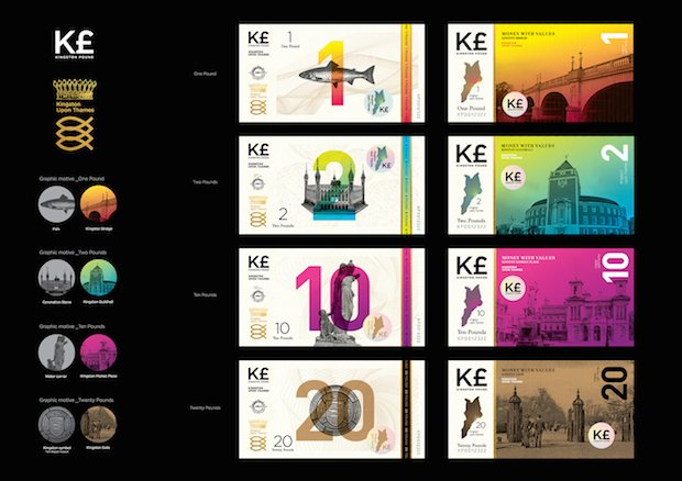KU design students asked to make physical version of Kingston Pound