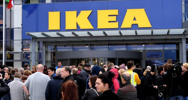 An IKEA store in Germany