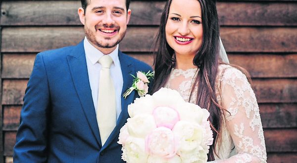 Marija and Mike Frewin got married in 2016 Photo: Holly Rose Stones
