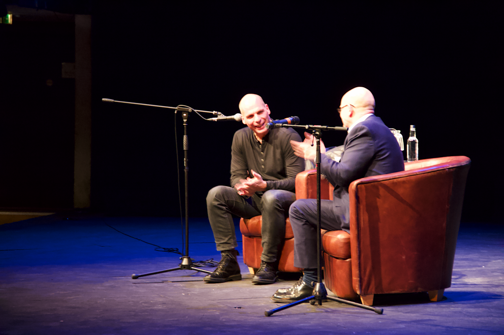 EXCLUSIVE: Yanis Varoufakis gives KU students his best advice at the Rose Theatre