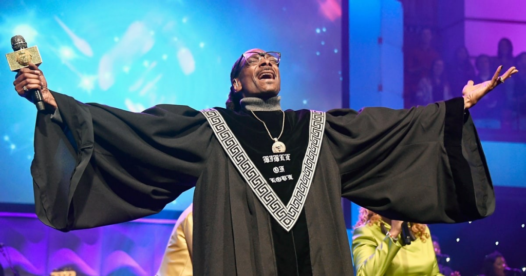 Pastor Snoop unveils the Bible of Love