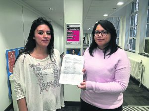 Students sign petition to nullify this year's SU elections
