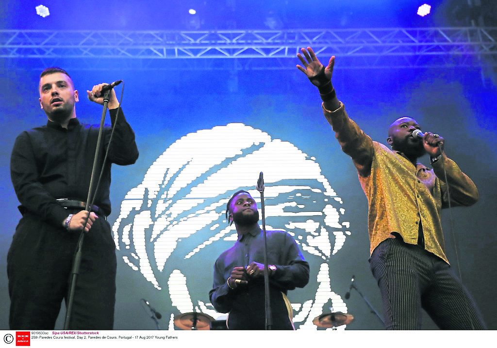 Young Fathers coming of age with third album