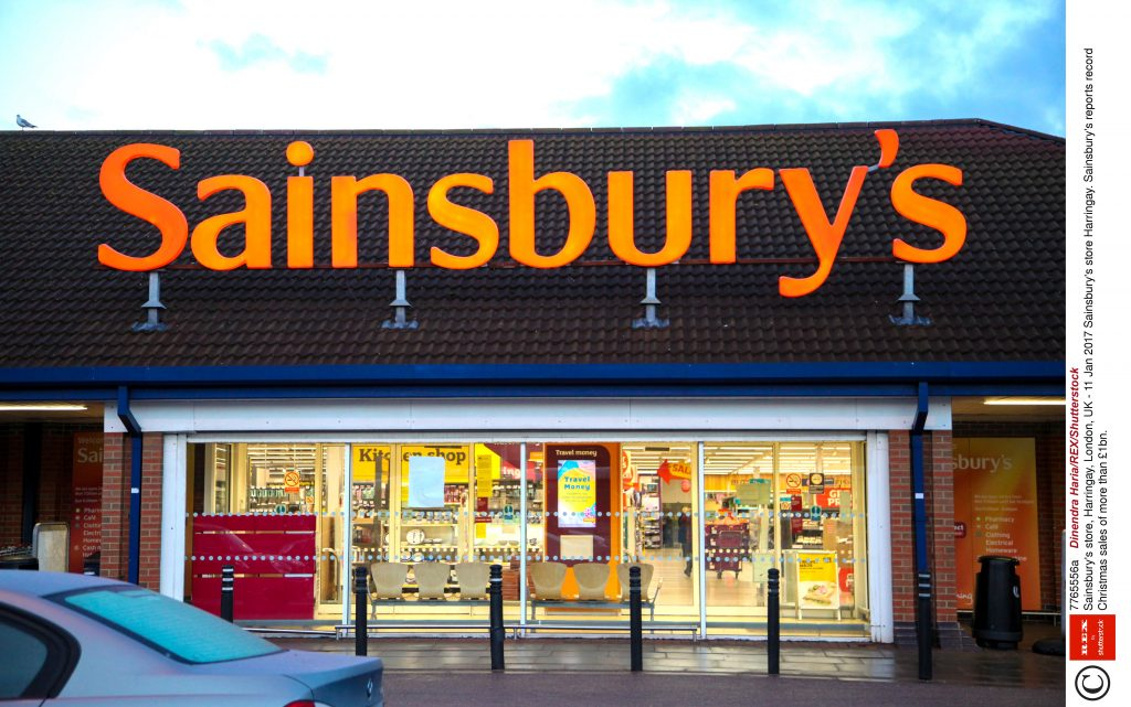 Shop locally, not in Sainsbury's