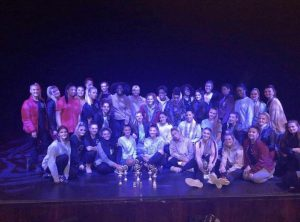 The Kingston dance teams last term with their trophies so far. Photo: KUDS