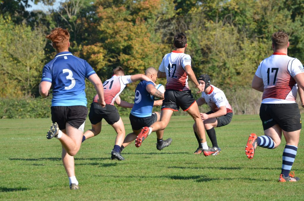 Success for the men rugby team who win first game of the season