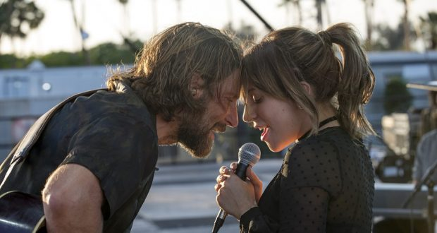 Lady Gaga and Bradley Cooper in A Star Is Born. Picture: Warner Bros