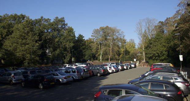 In spite of the new car park charges, most of the car parks at Kingston UNiversity remain full during peak times.