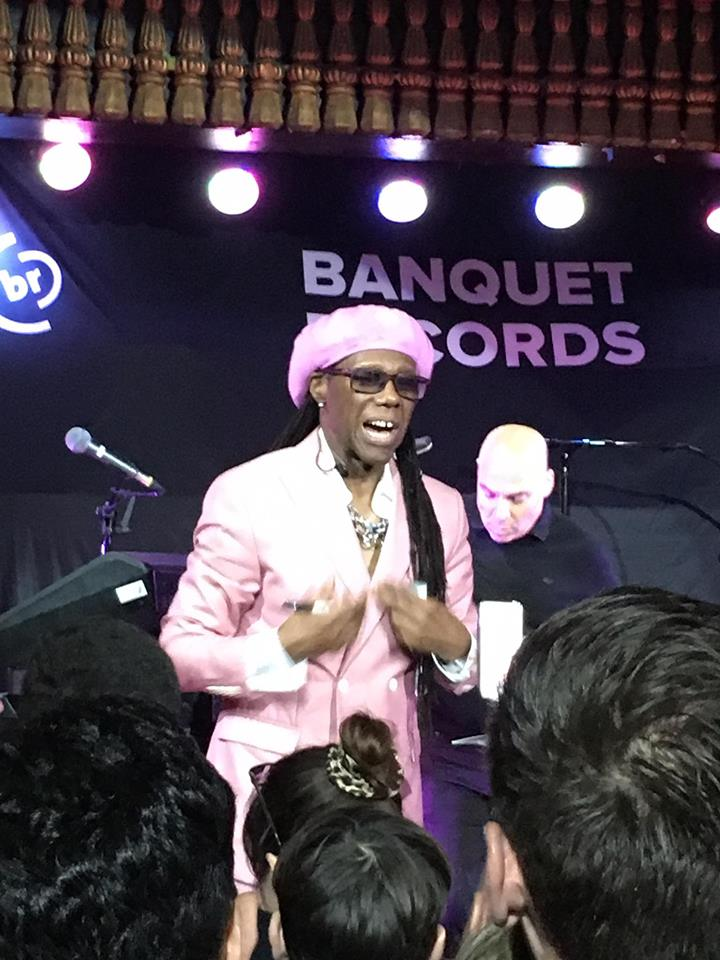 """Chic and Nile Rodgers show Pryzm """"Good Times"""""""