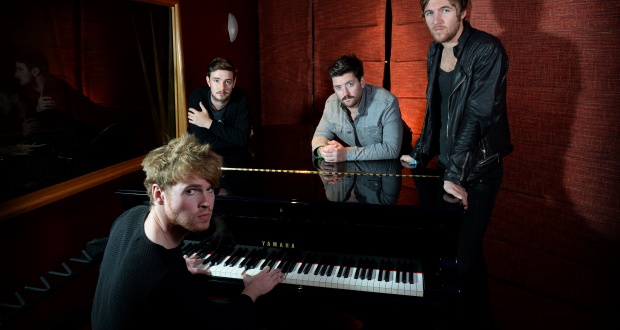 Kodaline performed at All Saints Church in Kingston on Saturday