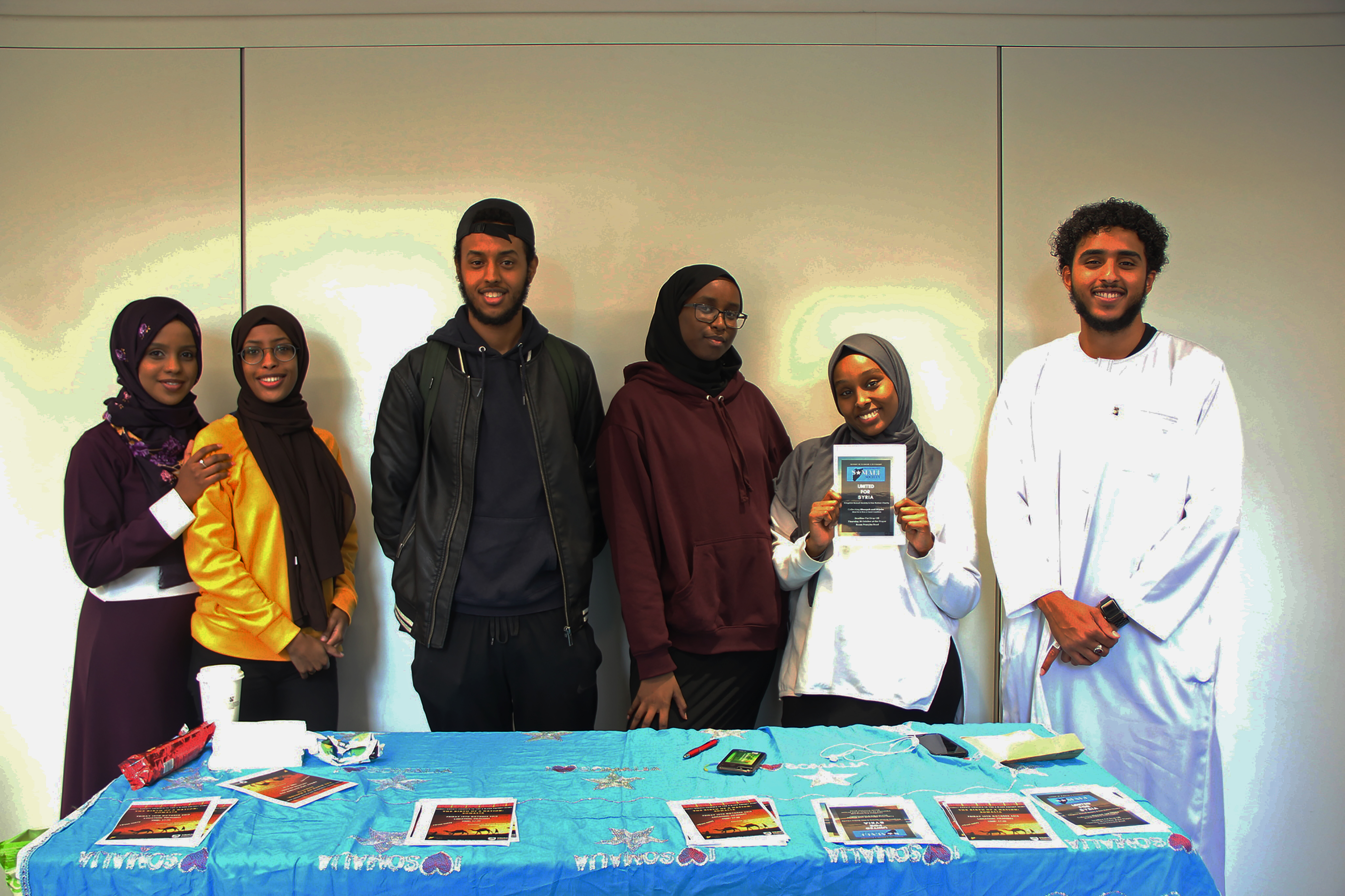 KU Somali Society collects hijabs and abayas for women in Syria