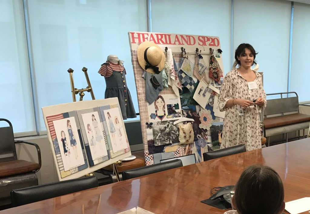 KU fashion student showcases her work to Ralph Lauren