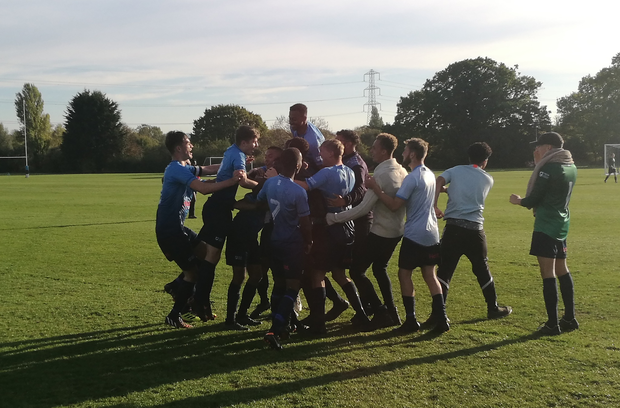 KU men's football snatch win in heated Conference Cup clash