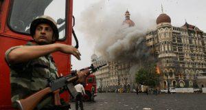 Attacks in the Taj Hotel in Mumbai. Photo: Rex Features